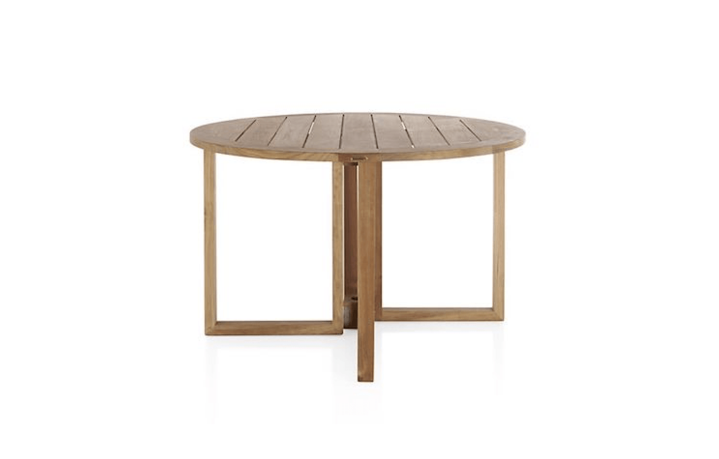 10 Easy Pieces Round Wood Dining Tables Gardenista Round Wood Dining Table Wood Dining Table Table