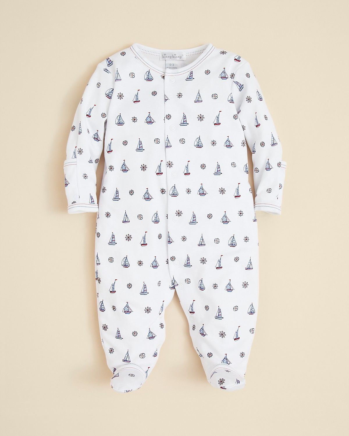 Kissy Kissy Infant Boys Sailboat Print Footie Sizes 0 9 Months Kids Baby Baby Boy 0 24 Months Bloomingdale S Baby Outfits Newborn Baby Boy Baby Boy Clothes Newborn