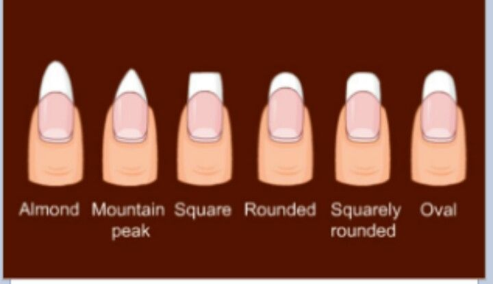 french manicure nail shapes - google