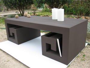 Japanese coffee table made of cardboard
