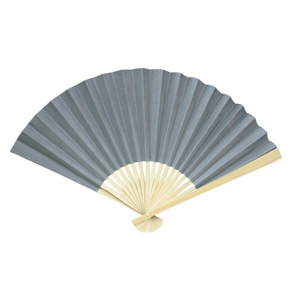 $146.00 for 200 fans!!!! Folding Paper Fans - Gray [424374 ...
