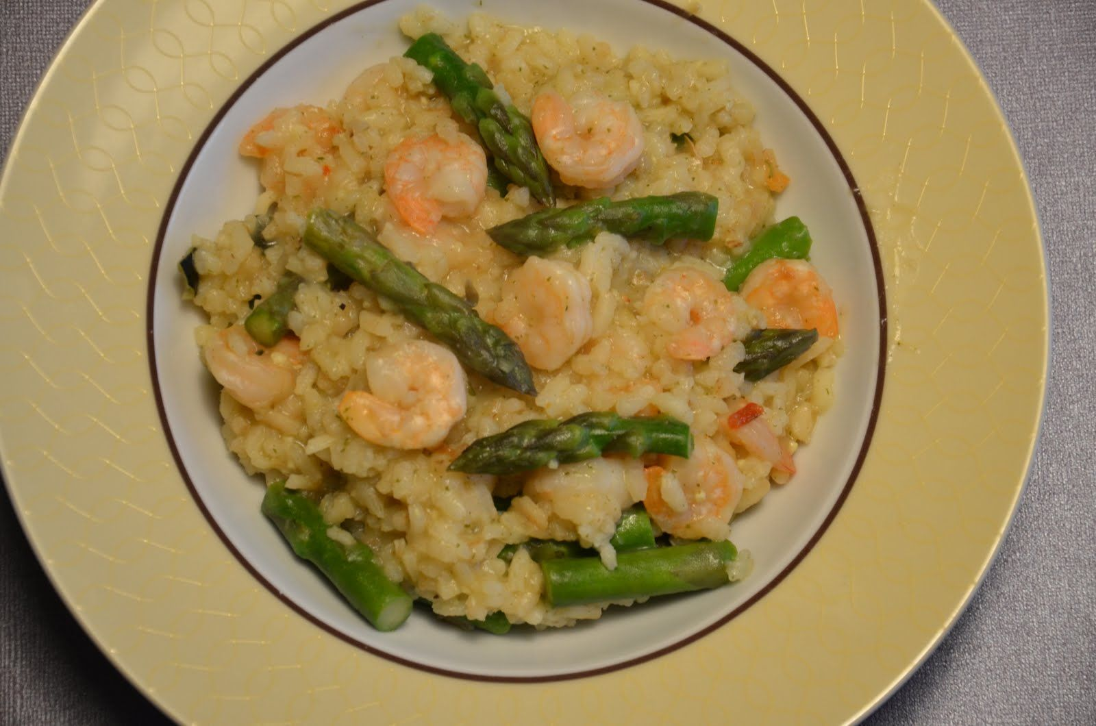 Shrimp & Asparagus Risotto - (The Olive Garden) - Official | Recipe ...