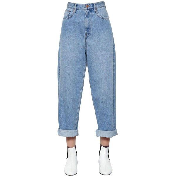 Bottoms Guuzyuviz Casual Autumn Winter Jeans Women Plus Thick Velvet Plus Size Denim Pants Patch Work Calca Jeans Feminina Women's Clothing