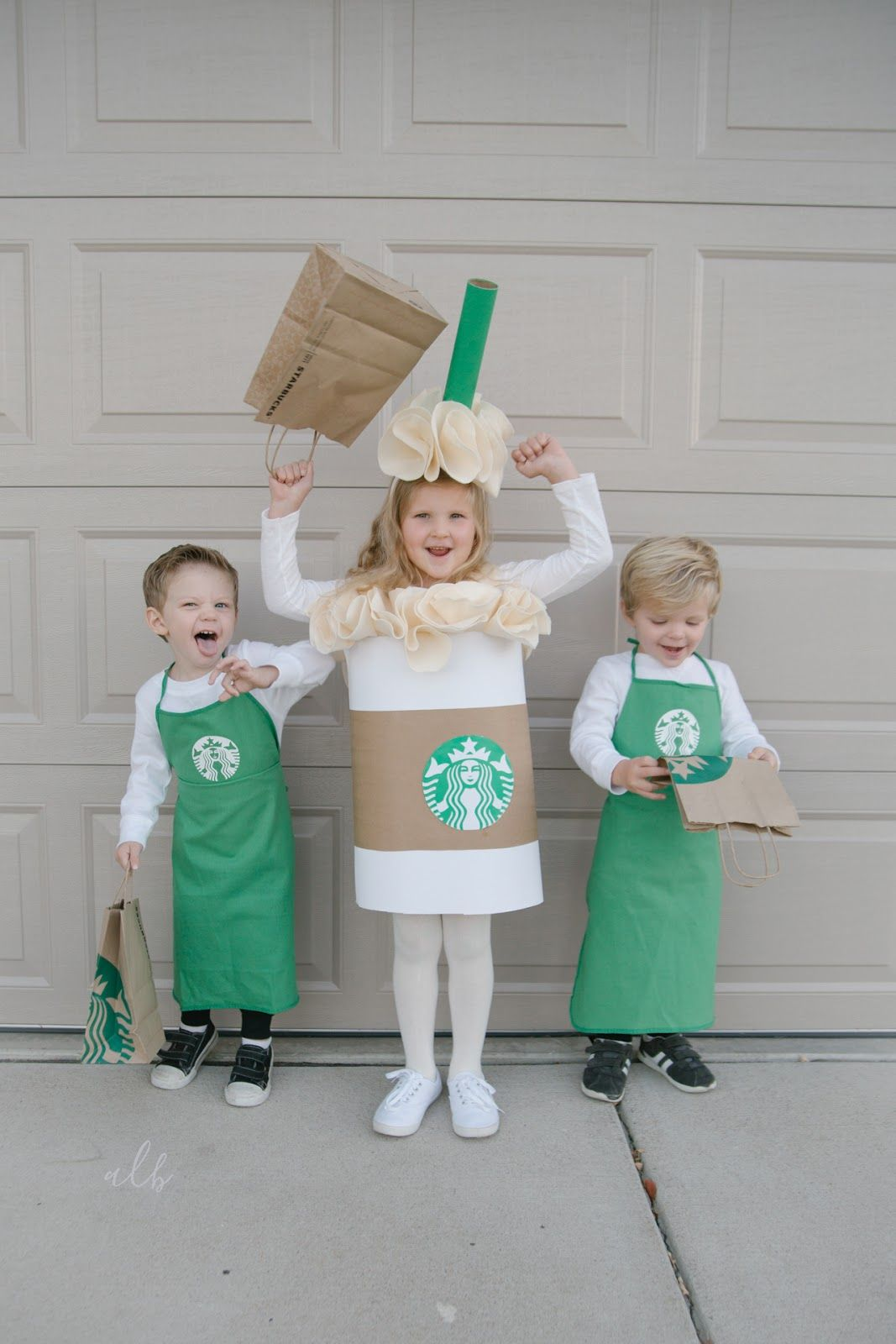 A lifestyle blog Starbucks halloween costume, Starbucks