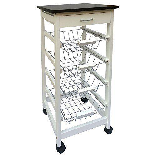 Chef Vida Kitchen Trolley Kitchen Storage Cart Diy Kitchen Storage