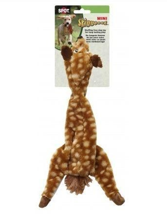 Ethical Pets Mini Skinneeez Spotted Deer Stuffingless Dog Toy 14