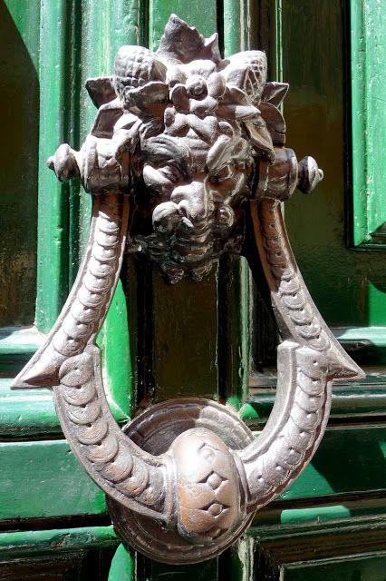The Green Door ドアノッカー ドアノブ ノブ