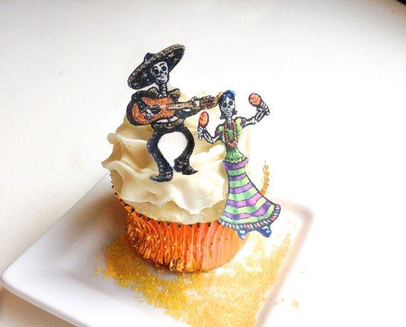Edible Victorian Angel Cherubs set of 12 Cake  Cupcake toppers