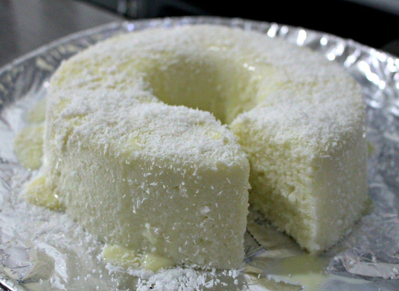 Bolo De Tapioca Cremoso Nao Vai Ao Forno Ingredientes 500 G De