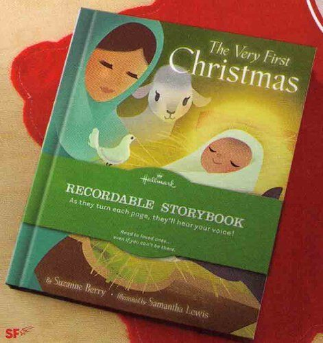Recordable Christmas Books.Hallmark Recordable Book The Very First Christmas By