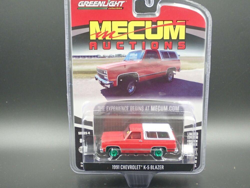 2020 Greenlight Green Machine Mecum Auctions 4 1991 Chevrolet K5 Blazer Chase Greenlight Chevrolet Mecum Auction K5 Blazer Lifted Ford Trucks