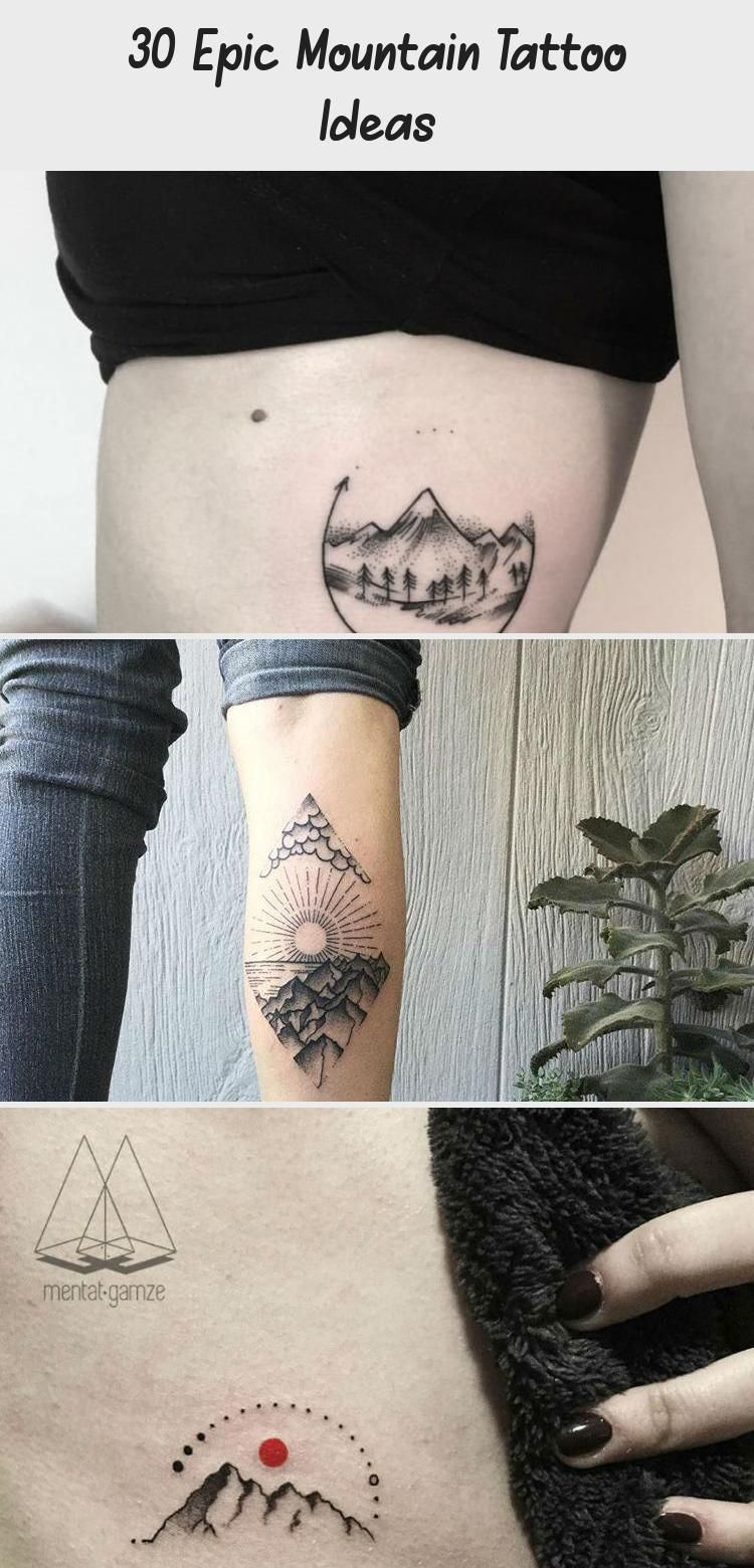 Photo of 30 Epic Mountain Tattoo Ideas #travelingtattosSketch #travelingtattosFriends #tr…