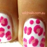 Pink Cheetah Print Nails - Nails Manicure and Pedicure Blog Northern Beaches Manicures Pedicures