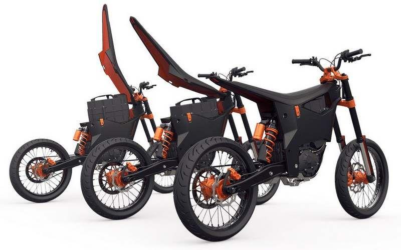 Ktm Delta Electric Motorcycle Concept Wordlesstech Electric Dirt Bike Electric Motorcycle Eletric Bike