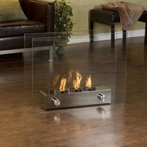 Now You Can Scrap That Old Tatty Looking Portable Heater And Upgrade To One  Of These Very Modern Looking Mini Glass Fireplace!