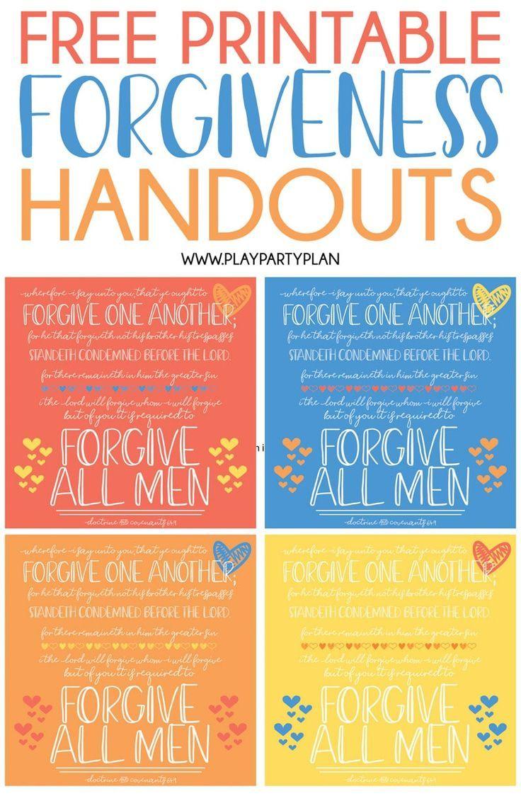 Free printable handouts quotes