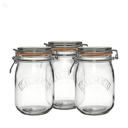 buy kilner clip top storage jars 3 piece set 1 l online india rh pinterest com