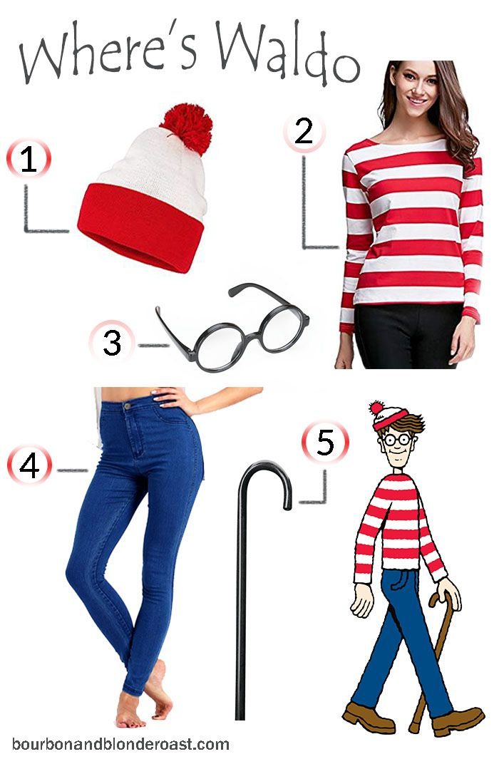 5 Cute Easy Halloween Costume Ideas My Blog Bourbon Blonde