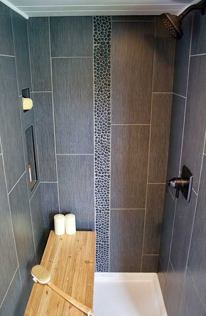 tiny house shower - Tiny House Interior Bathroom