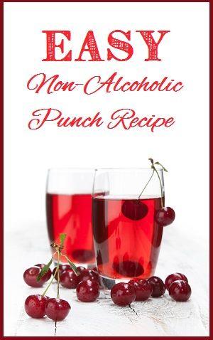 Non Alcoholic Punch Recipe easy-special-health-recipes.com