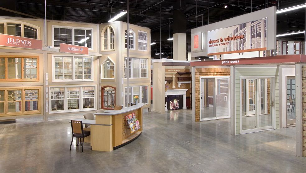 The Home Depot Design Center Millwork Showroom