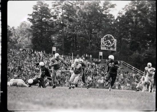 October 23, 1948: UNC defeats LSU, 34-7, at Kenan Stadium.