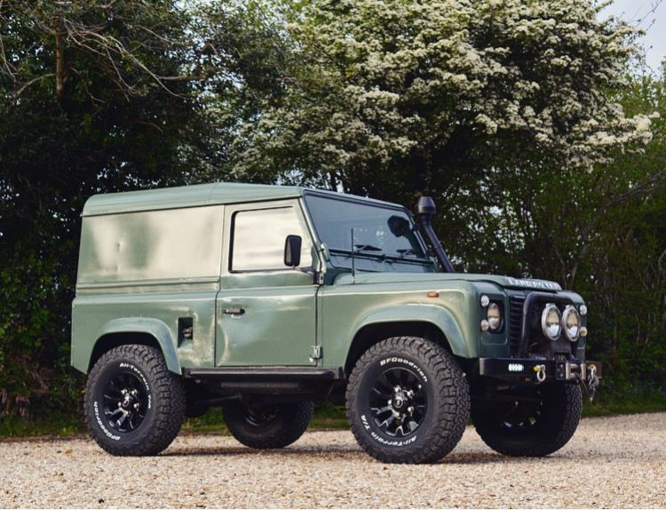 Keswick Green Defender 90 Land Rover Defender Land Rover Defender 90