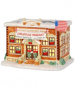 Macy's Department 56 Collectible Figurine, Peanuts Village Pinecrest Elementary School on shopstyle.com