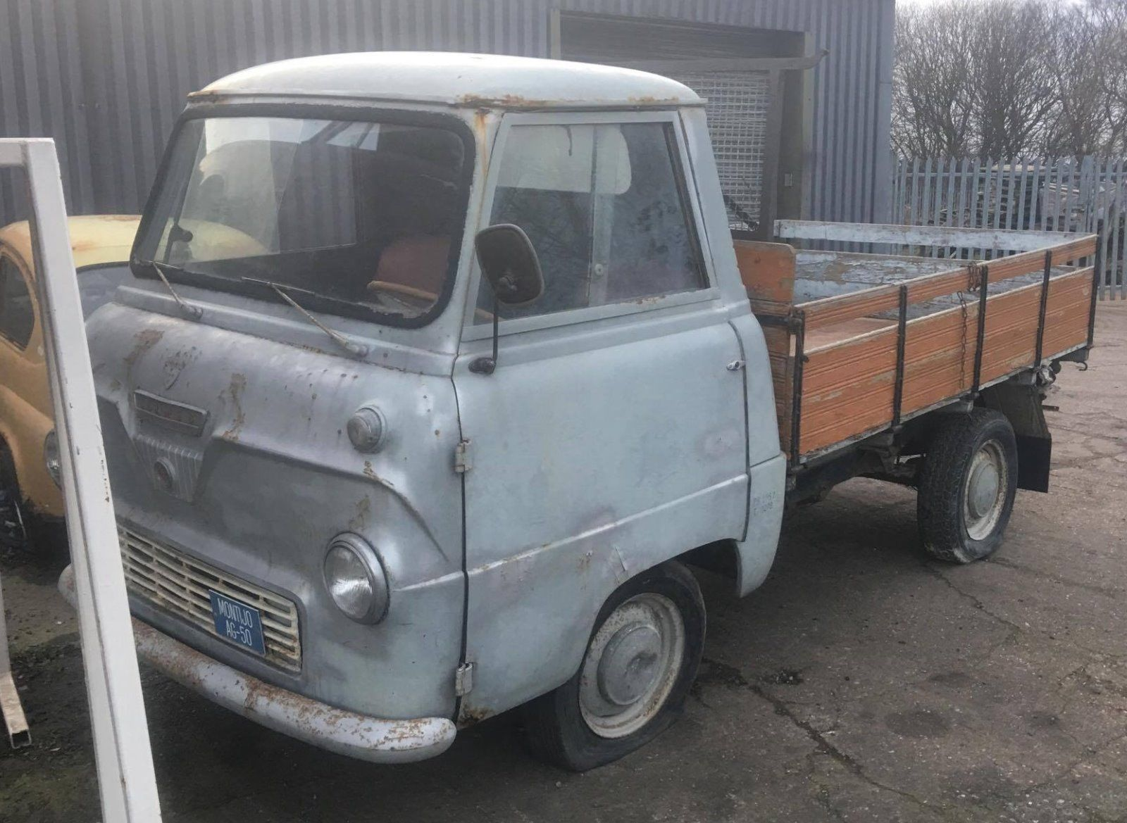 Looking For A 1959 Ford Thames 400e Pickup Truck Uk Registered Tax Mot Exempt This One Is On Ebay Ford Classic Cars Classic Cars Old Lorries
