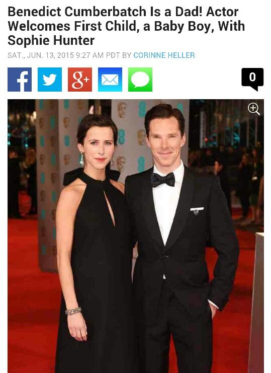 Cumberbaby has arrived!