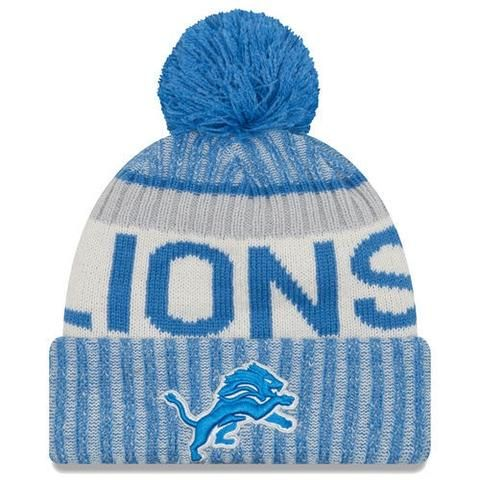 ... ireland nfl detroit lions blue 2017 sideline official sport knit hat  detroit lions stuff pinterest detroit 7b968d15f