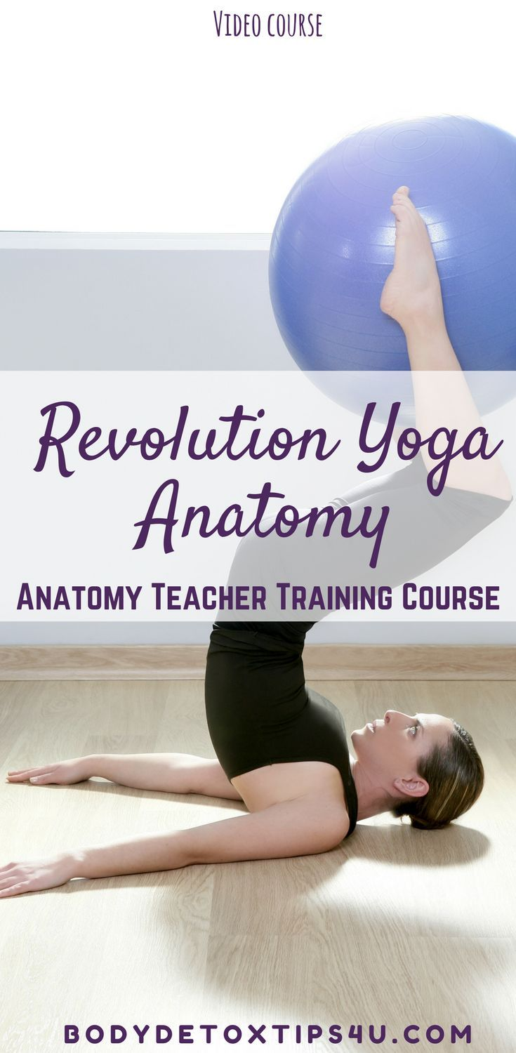 The Revolution Yoga Anatomy Teacher Training Course | Yoga anatomy ...