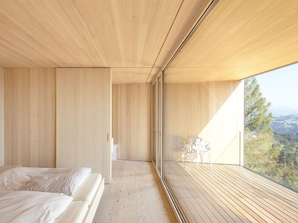 Dietrich Untertrifaller Architekten Schlafzimmer Pinterest - interieur in weis und marmor blockhaus bilder