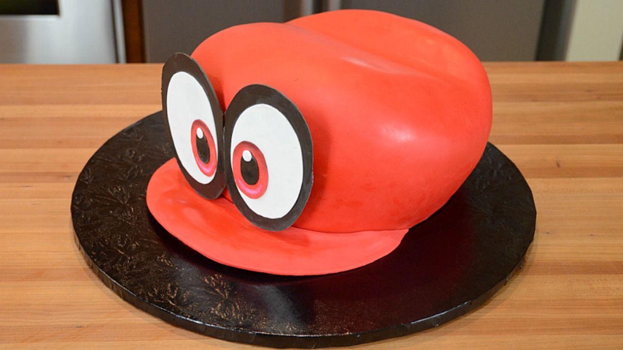 Cappy Cake Super Mario Odyssey Mario Birthday Cake Super
