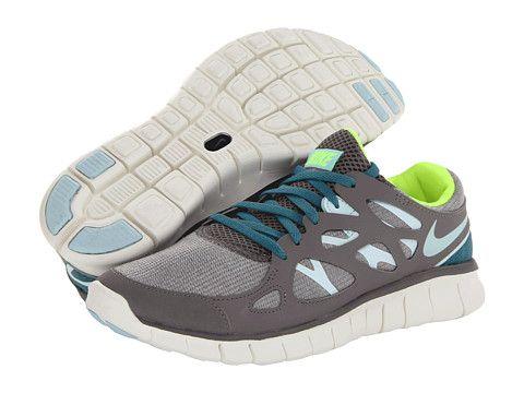 Nike Free Run 2 Ext Canyon GreyMineral TealVoltTeal Tint