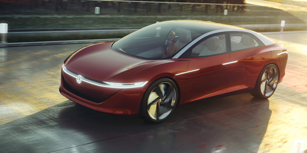 Meet The Future Electric Concept Vehicles From Vw Volkswagen Volkswagen Phaeton Volkswagen Car