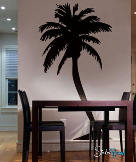 Large Palm Tree Wall Decal Sticker 132 Vinyl Wall Tree Tree
