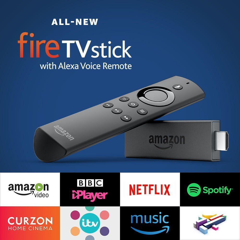 Can You Watch Netflix On Echo Show Fire Tv Amazon Co Uk All New Amazon Fire Tv Stick With Alexa Voice Remote Streaming Media Stick Amazon Fire Tv Stick Tv Stick Voice Remote