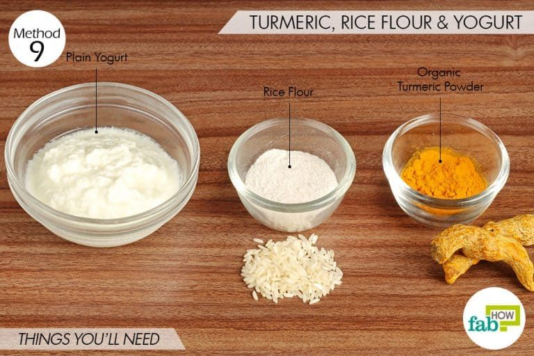 Brighten Up Your Dull Face with Turmeric Masks (10 Recipes