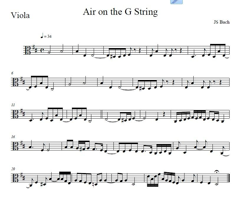Pin On Free J S Bach Sheet Music