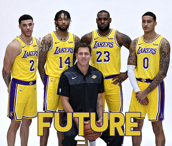 How Bright Is The Los Angeles Lakers Future Luke Walton Bradon Ingram Kyle Kuzma Lebron James Lonzo B Lakers Team Nba Basketball Teams Lebron James Lakers