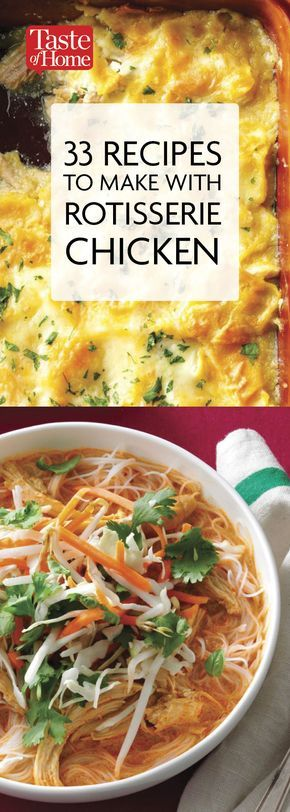 133 Recipes to Use up Leftover Rotisserie Chicken ...