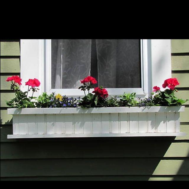 Cape Cod Custom Flower Boxes The Nantucket Window Box Flower Boxes Window Box Nantucket Window Box