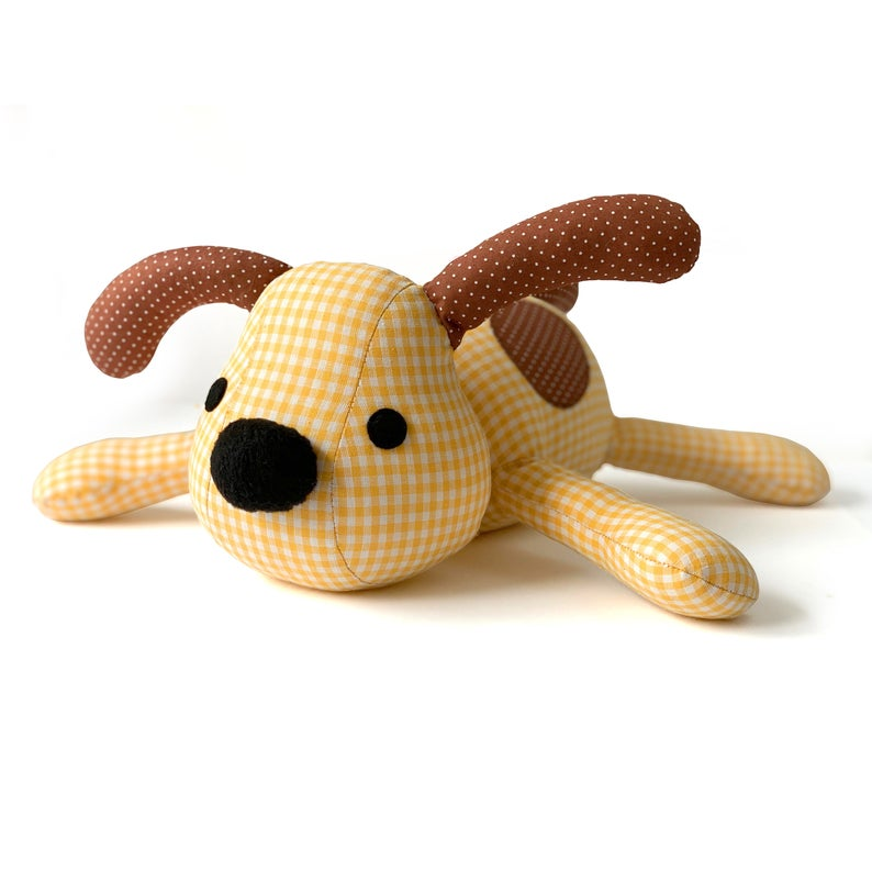 Dexter The Dog Toy Sewing Pattern Pdf Sew A Stuffed Animal Etsy Stuffed Animal Patterns Sewing Toys Stuffed Toys Patterns