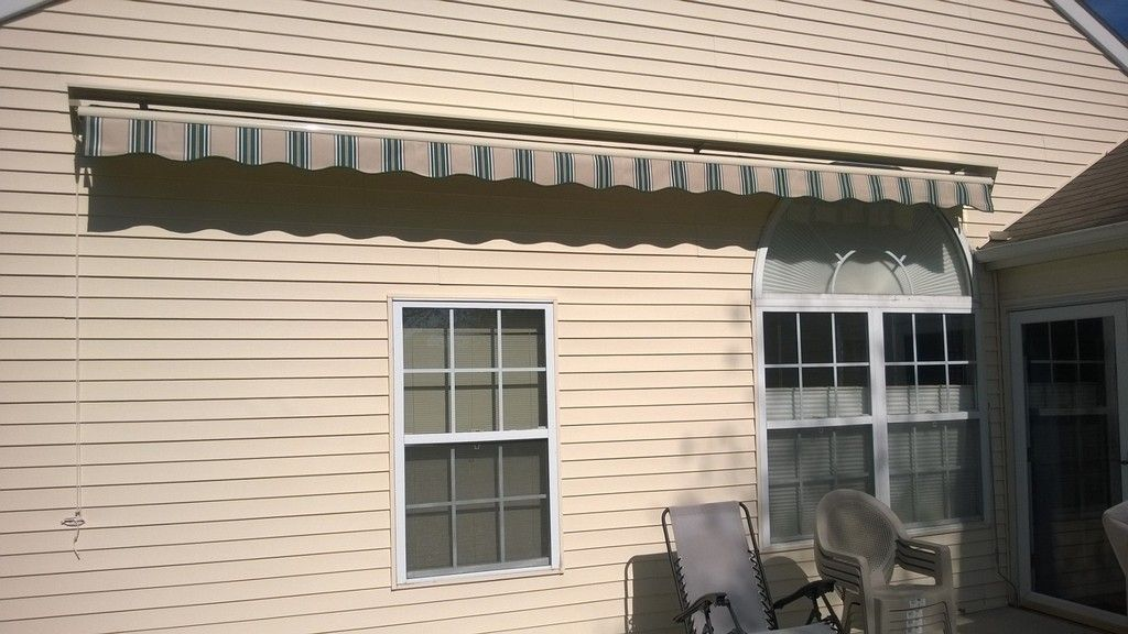 Retractable Awning Home Depot Motorized Awnings For Decks ...