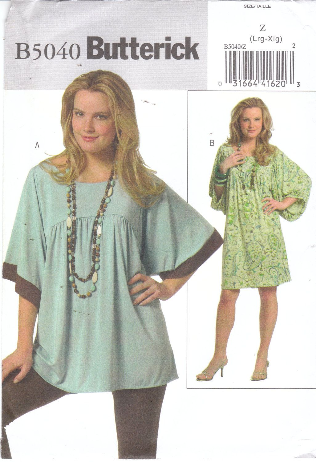 Easy sewing pattern for womens plus size loose fitting pullover easy sewing pattern for womens plus size loose fitting pullover stretch knit tunic top or jeuxipadfo Image collections