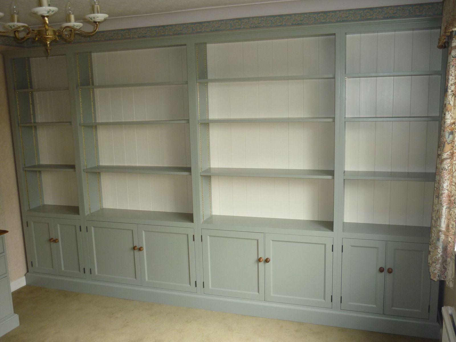 Cabinet maker bespoke pine furniture oak furniture bespoke - Bespoke Office Furniture With Huge Bookcase Painted Bookcases Pine Shop Bury