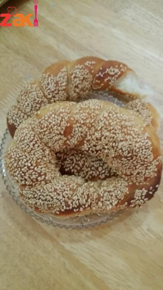 طريقة عمل خبز السميت التركي بأنجح طريقة على الاطلاق ومن أول مرة زاكي Food Recipes Baking