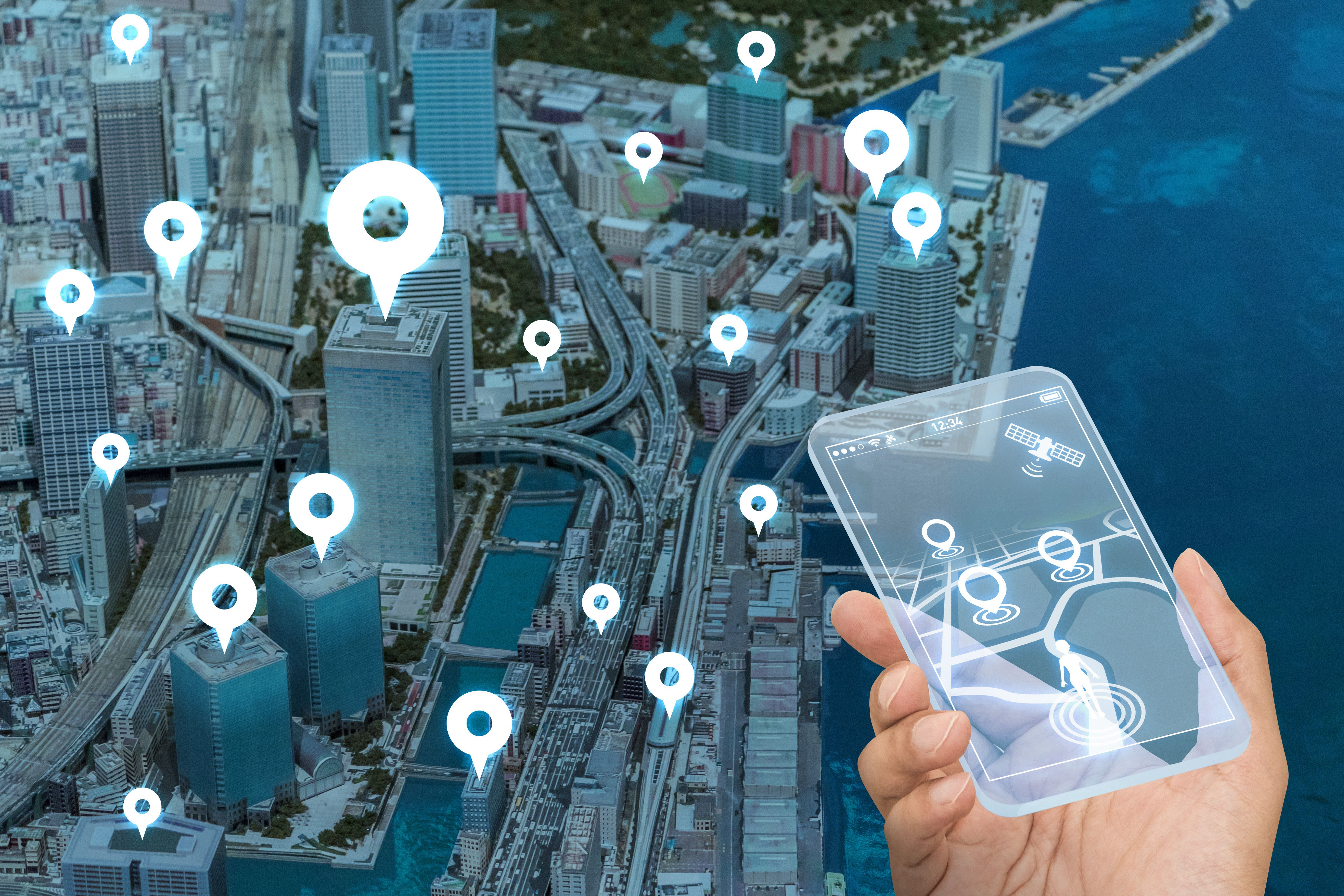 Get innovative geospatial solutions based on geographical