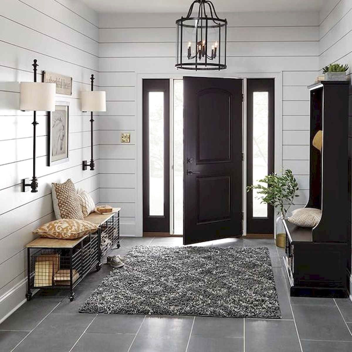 80 Modern Farmhouse Staircase Decor Ideas: 70 Favourite Modern Farmhouse Front Door Entrance Design